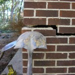 Cracks in Brick Before Foundation Repair